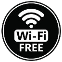 FREE WIFI in rooms and public areas